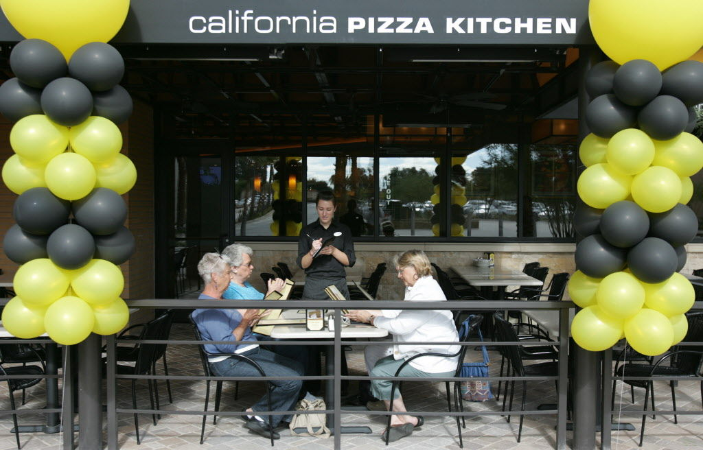 California Pizza Kitchen Tucson Menu
