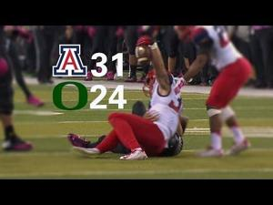 Sounds of Arizona football vs. Oregon