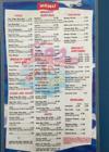 Baja Mar menu
