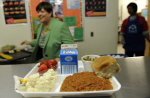 Yuck! Students not eating nutrition program's healthy lunches