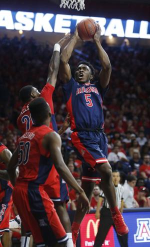 Photos: UA basketball Red-Blue Game