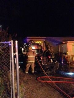 Tucson office building blaze contained with no injuries