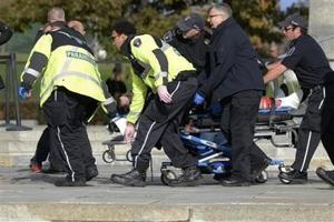 Dos muertos en ataque en el Parlamento de Canadá