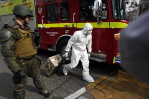 Chile: 3 detenidos por atentado en metro