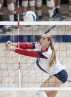 Star, seniors, stinginess keeping UA volleyball on track