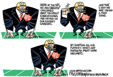 Daily Fitz Cartoon: NFL