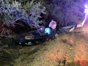 4 escape serious injury in Tucson rollover