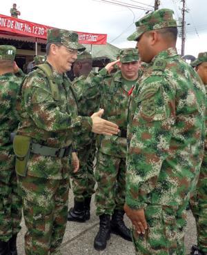FARC: Liberación de general, gesto buena voluntad