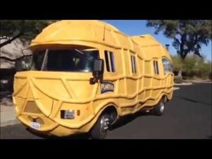 Mr. Peanut's Nutmobile stops by the Star