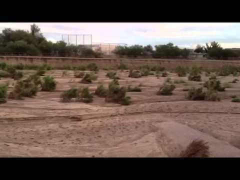 Rillito River awash in waves of sand