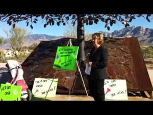 Tee'd Off group delivers petitions in Oro Valley