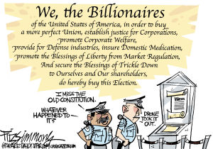 Fitz Cartoon Extra: We, the Billionaires
