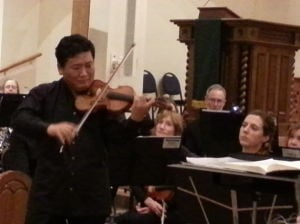 Review: SASO introduces new choir, Korean violinist