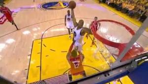 Ex-Cat Andre Iguodala throws down nasty dunk