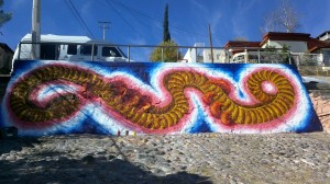 Blog: Nogales artists finish re-do of painted-over mural