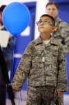 Air Guard members saluted for service