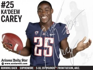 Arizona Wildcats football: Carey named to AP All-America team, becomes UA's first consensus pick since 2007