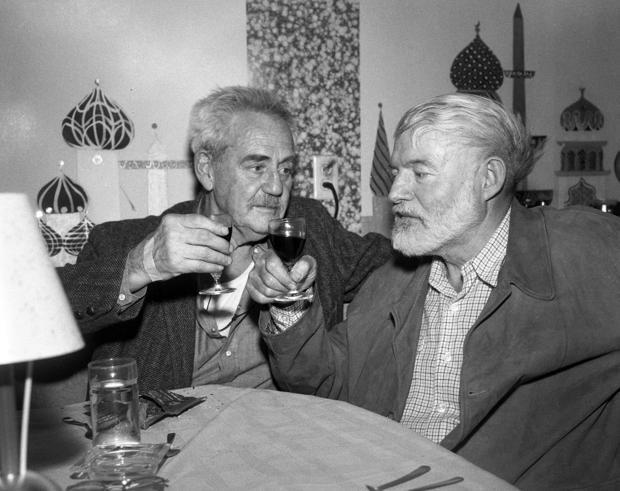 Ernest Hemingway visiting Tucson