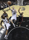 NBA Finals: Spurs 114, Heat 104: Manu wouldn't believe it