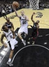 NBA Finals Spurs 114, Heat 104 Manu wouldn't believe it