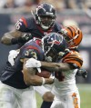 AFC wild card: Bengals (10-6) at Texans (12-4): Houston moving on from late stumble