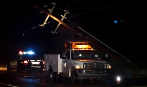 Second big storm delivers more power line punches