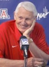 Lute Olson to throw first pitch tonight at Tucson Padres game