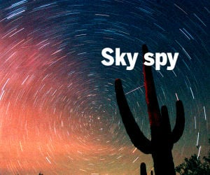 Gaze upward, give thanks for Tucson's night sky