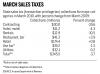 Sales-tax chart