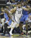 NBA playoffs Grizzlies 87, Thunder 81 Grizzlies grit, grind OKC