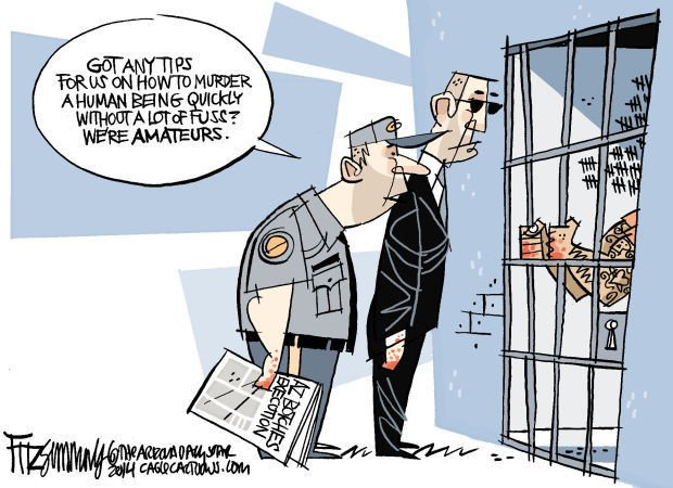 Daily Fitz Cartoon: Death Penalty