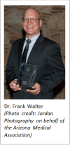 Biz awards - Dr. Walter gets Public Health Service Award