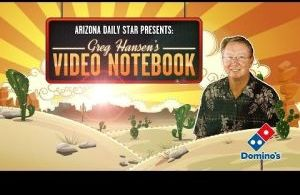 Greg Hansen's Video Notebook ... on Arizona basketball and the first UA football practice