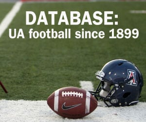 UA football coaches, opponents, results since 1899