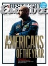 Giffords' husband, Kelly, on Esquire magazine cover