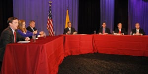 Economy depends on border control, governor candidates say
