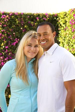 Lindsey Vonn y Tiger Woods Nueva superpareja deportiva: