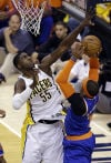 NBA playoffs Pacers 82, Knicks 71 Hibbert, George give Pacers series edge