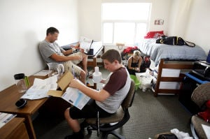 Photos: Early dorm move-in at UA