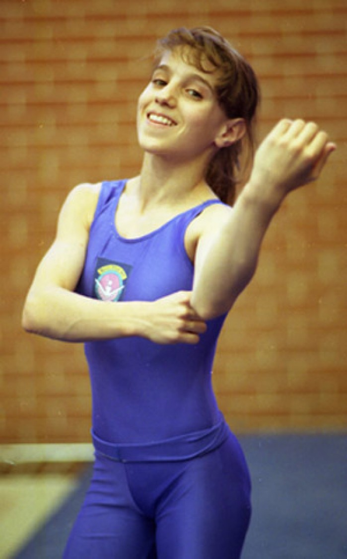 Kerri Strug proved herself a champion at age 13