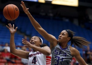 Photos: University of Arizona vs Stephen F. Austin