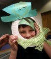 Library hosts St. Paddy's Day craft event