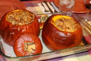 Autumn in Tucson: Nothing like the real thing, especially with pumpkins
