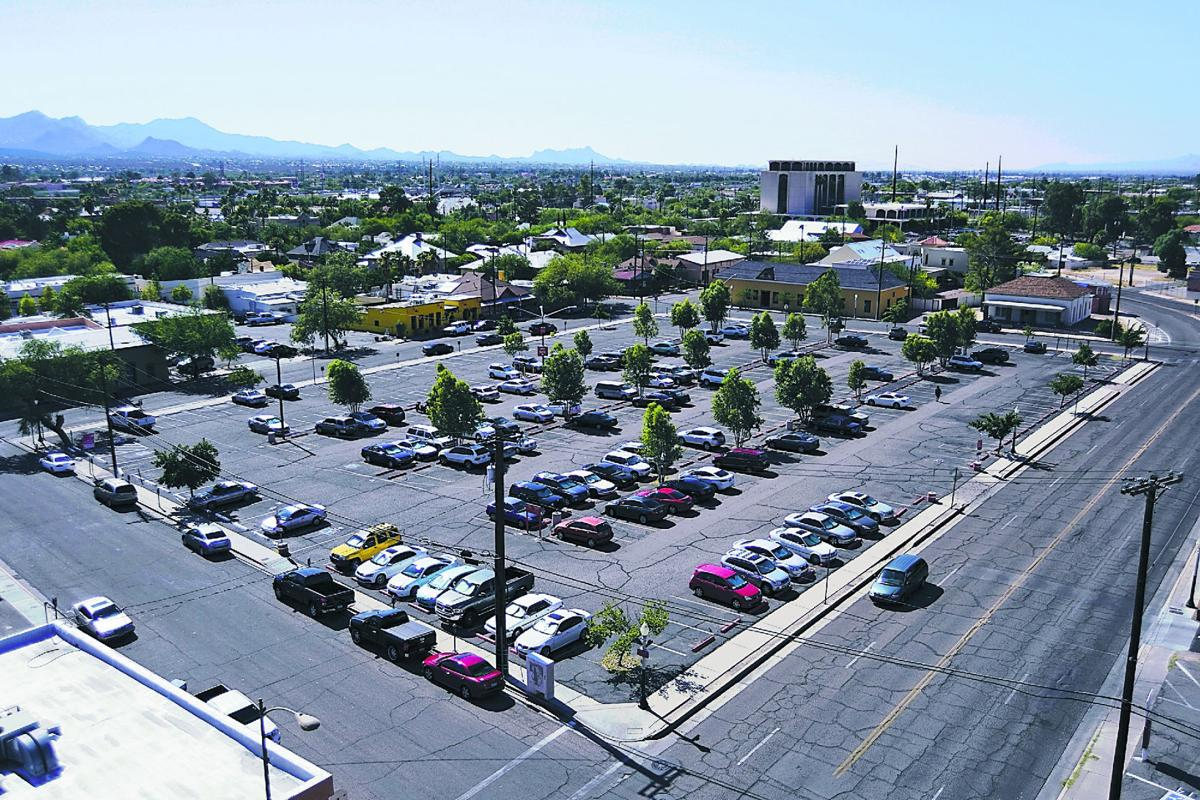 Downtown tucson parking lots ripe for development