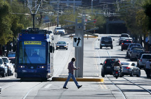 Views from the first ride on Tucson's streetcar