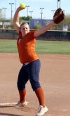 Softball Bobcats' complete pitcher
