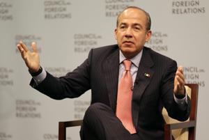 Calderón: líderes locales trabaron plan anticrimen