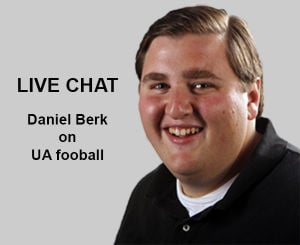 Transcript: Q&A chat with Daniel Berk on UA football
