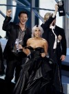 Lady Gaga,Jane Lynch, Cory Monteith
