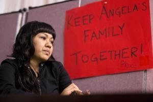 Madre inmigrante se refugia en iglesia de Filadelfia